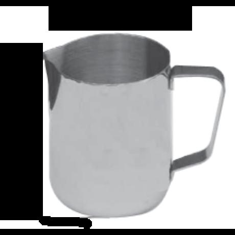 Inox tejkiöntő 0,35L