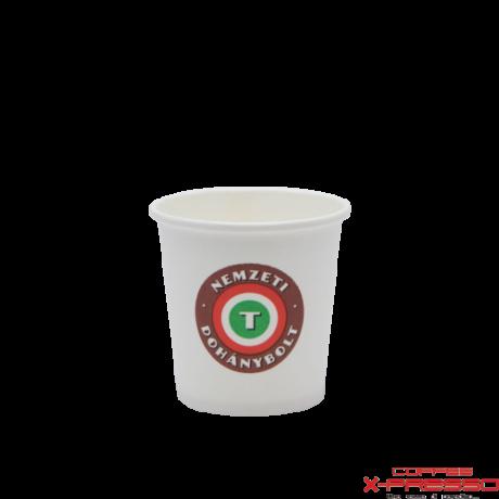 Coffee To Go papírpohár Nemzeti Dohánybolt