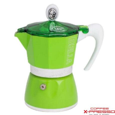 G.A.T. Bella kotyogós kávéfőző 3 csésze - Zöld