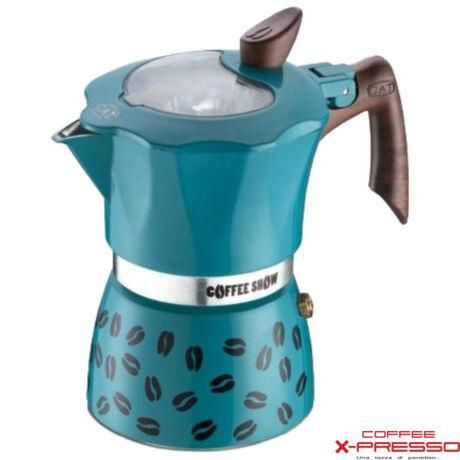 G.A.T. Coffee Show kotyogós kávéfőző 2 csésze - Kék