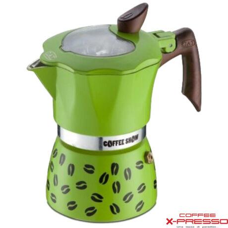 G.A.T. Coffee Show kotyogós kávéfőző 2 csésze - Zöld