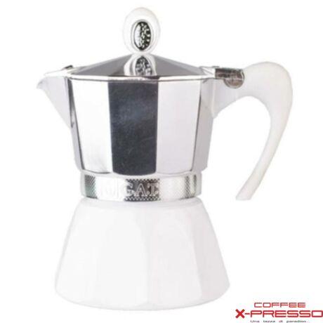 G.A.T. Diva kotyogós kávéfőző 3 csésze - Fehér