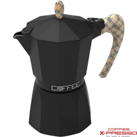G.A.T. Fashion Black kotyogós kávéfőző 3 csésze - Burberry
